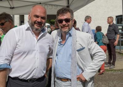 Avec Christos Doulkeridis
