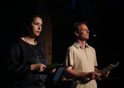 Zakia Khattabi et Patrick Dupriez