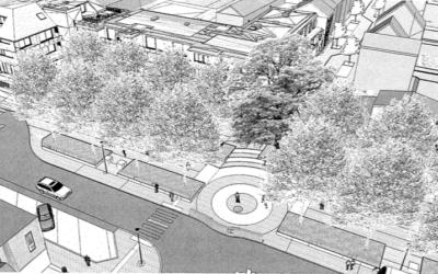 Intervention d'Ecolo sur la revitalisation de la place Capouillet + Vues 3D
