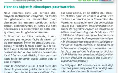 Tribune Libre du Waterloo Info: Coralie Van Bever